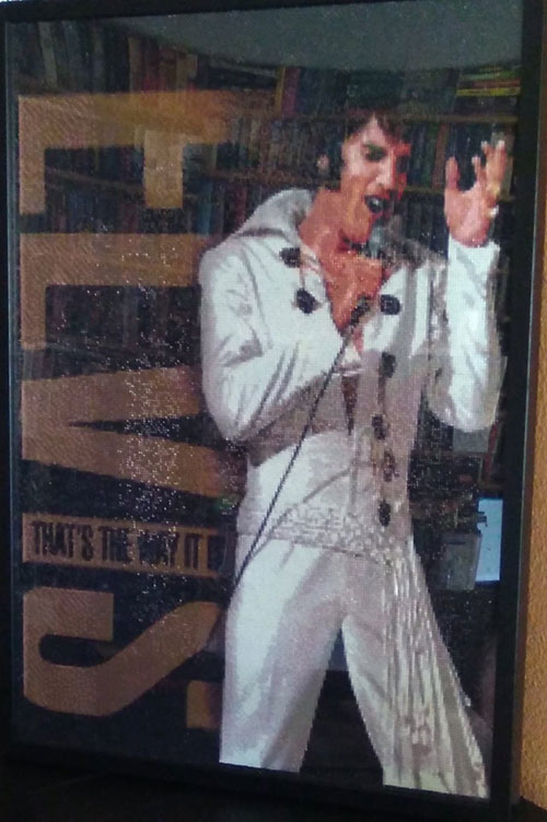 elvis presley, that's the way it is, diamond painting