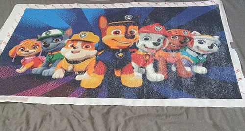 paw patrol diamond painting kinderkamer