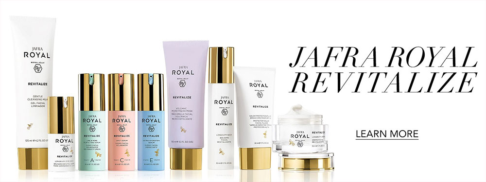 jafra revitalize royal jelly huidverzoring