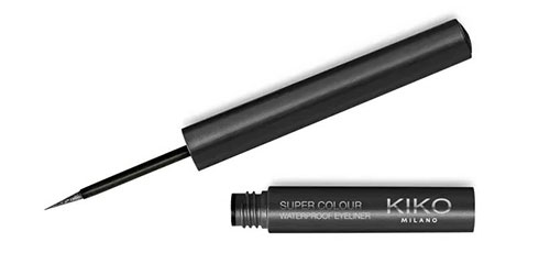 kiko super colour eye liner waterproof