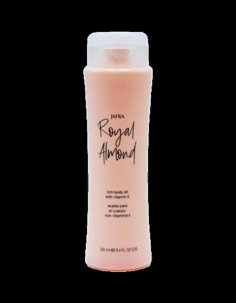 royal almond body oil jafra cosmetics