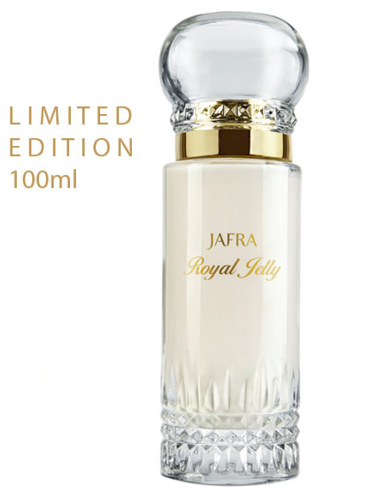 royal jelly milk balm jafra 100 ml limited edition