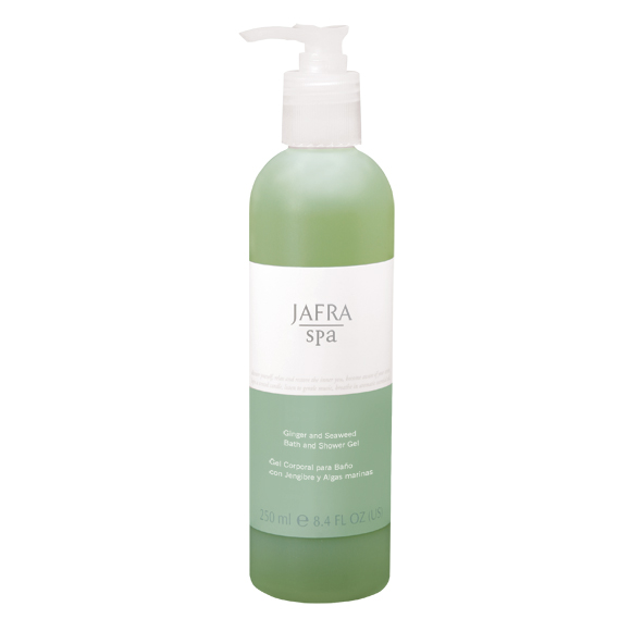 Jafra Spa Ginger and Seaweed Bath and Shower Gel